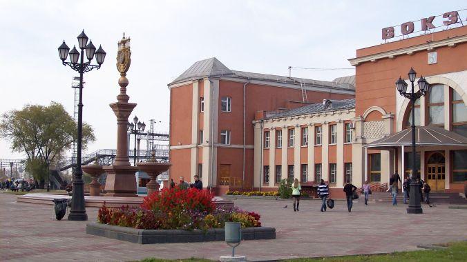 Биробиджан,_вокзальная_площадь