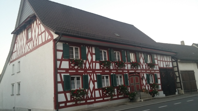 A beautifully Germanic house in Buesingen